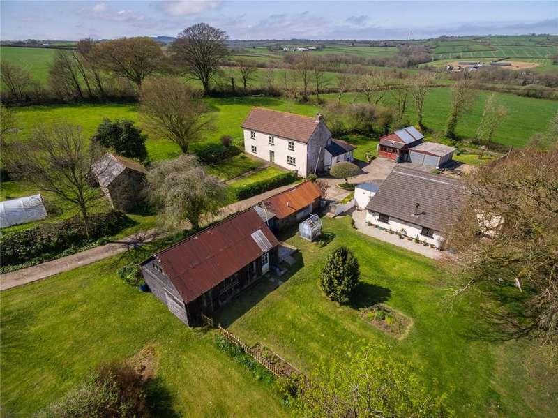 6 Bedrooms Detached House for sale in Buckland Brewer, Bideford, Devon, EX39