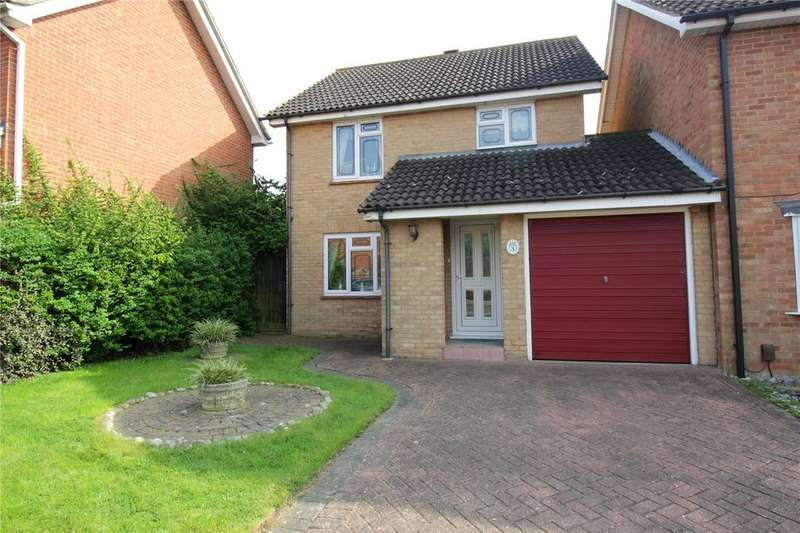 3 Bedrooms Link Detached House for sale in Kennedy Avenue, Laindon West, Essex, SS15