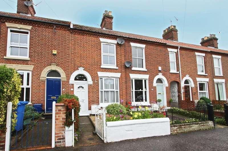 2 Bedrooms Terraced House for sale in Waldeck Road, Norwich