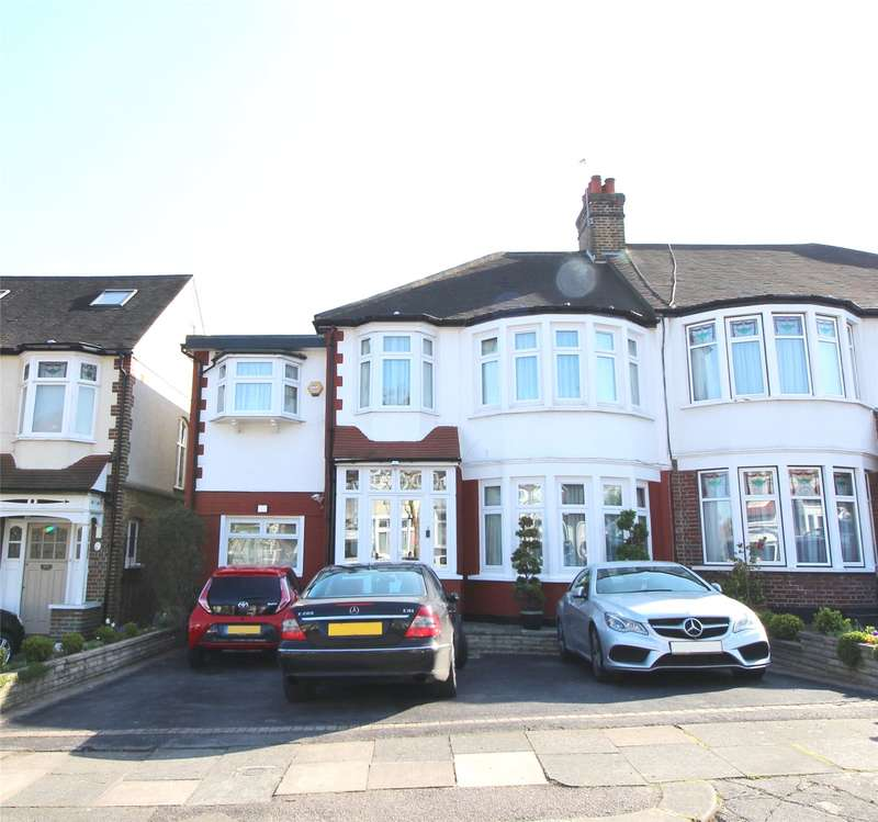 4 Bedrooms Semi Detached House for sale in Beechdale, Winchmore Hill, London, N21