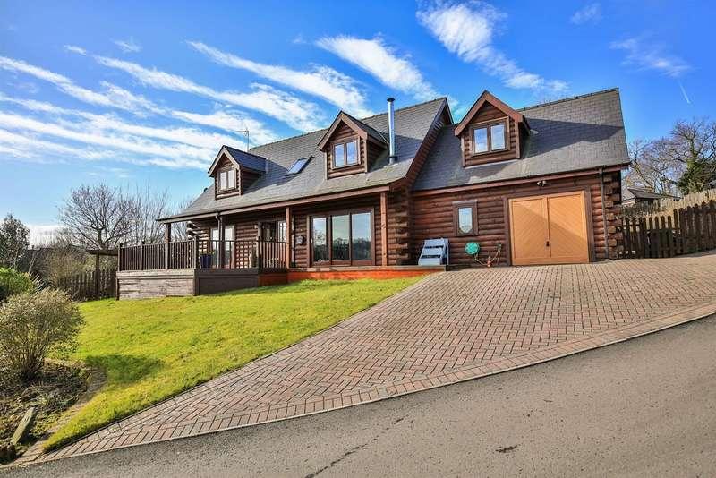 4 Bedrooms Detached House for sale in Oakmead Road, Llanharan, Pontyclun