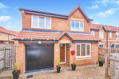 4 Bedrooms Detached House for sale in Tulip Avenue, Colburn, Catterick Garrison, North Yorkshire