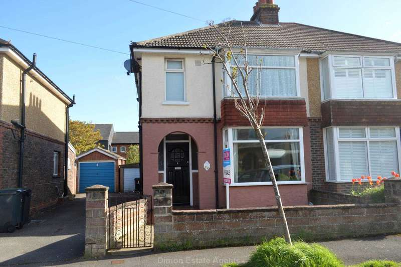 3 Bedrooms Semi Detached House for sale in Strathmore Road, Gosport