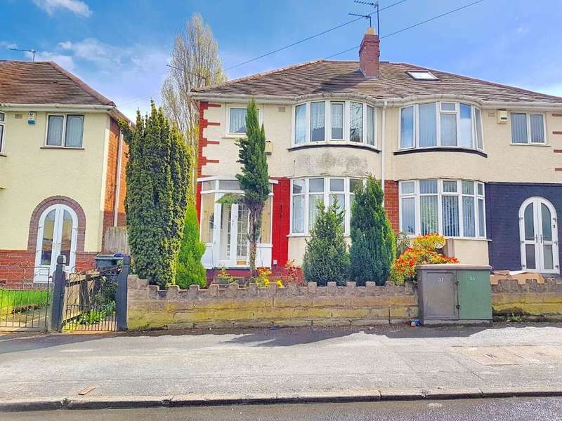 3 Bedrooms Semi Detached House for sale in CHURCH LANE, WEST BROMWICH, WEST MIDLANDS, B71 1DB