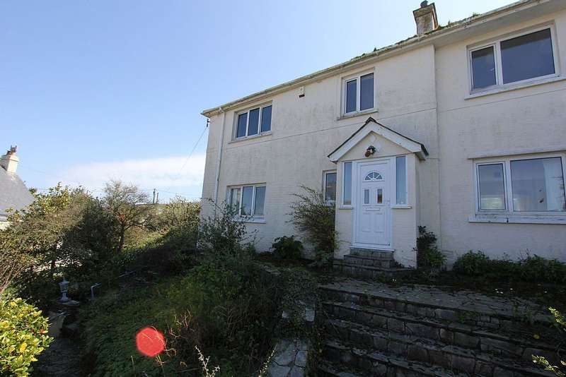 4 Bedrooms Semi Detached House for sale in Battery Park, Polruan, Cornwall, PL23 1PT