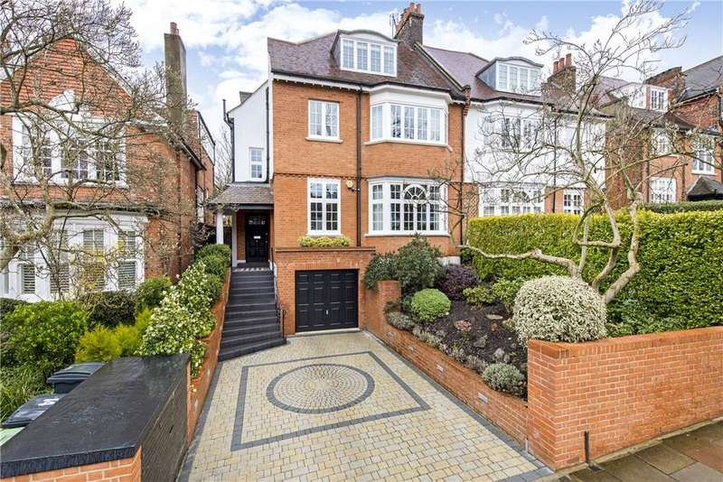 5 Bedrooms Semi Detached House for sale in Ferncroft Avenue, Hampstead, London, NW3