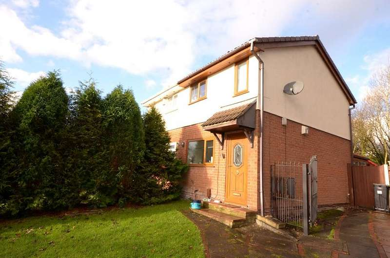 2 Bedrooms Semi Detached House for sale in Beatty Drive, Westhoughton, Bolton, Lancashire BL5