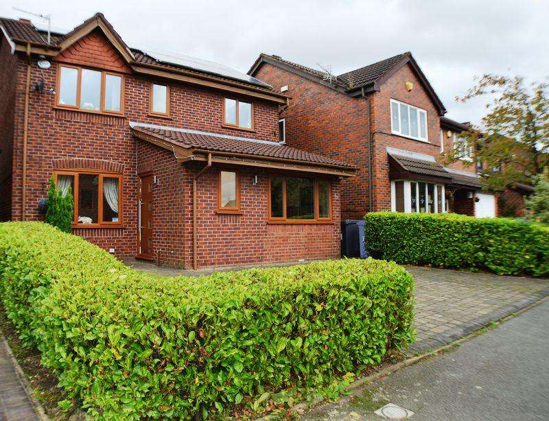 4 Bedrooms Detached House for sale in Rowanswood Drive, Godley, Hyde