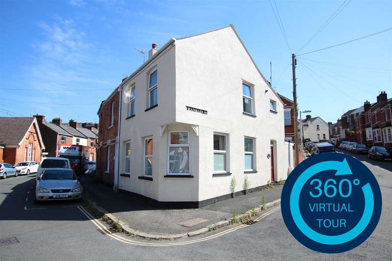 2 Bedrooms End Of Terrace House for sale in Roberts Road, St Leonards, Exeter