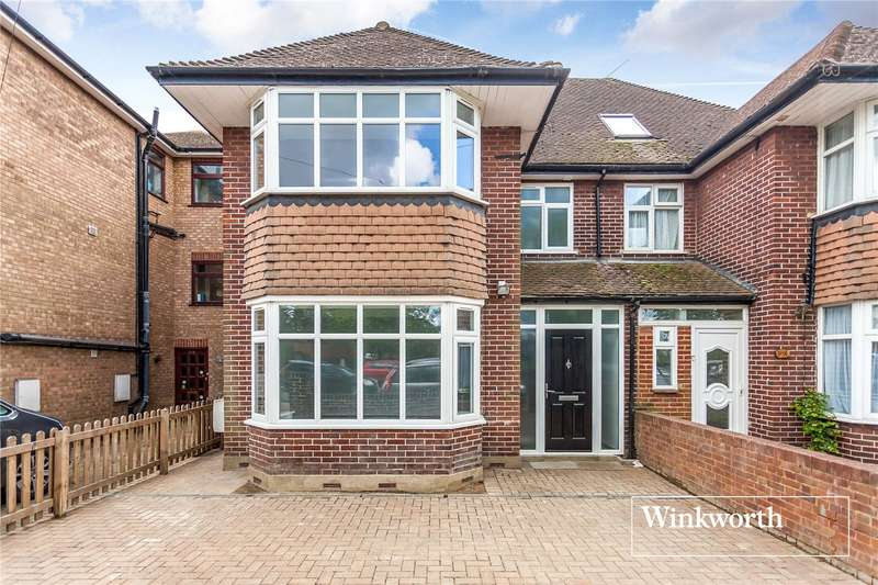 5 Bedrooms Semi Detached House for sale in East End Road, Finchley, London, N3