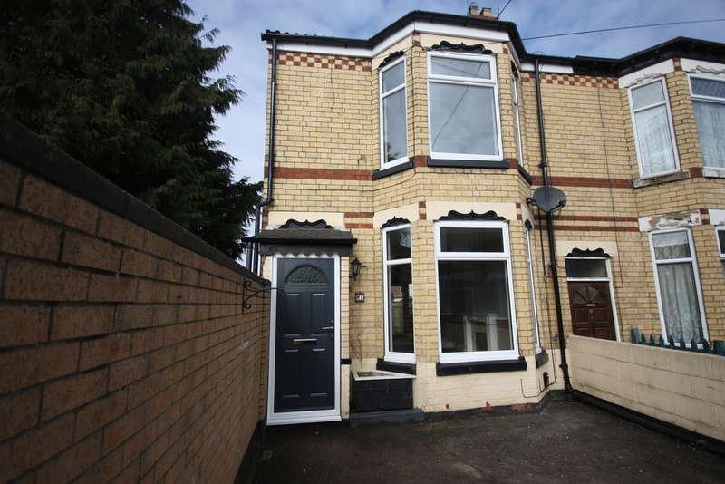 3 Bedrooms Property for rent in Coleridge Street, HU8