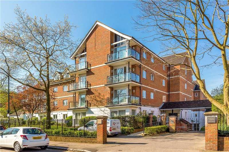 2 Bedrooms Flat for sale in Marian Lodge, 5 The Downs, London, SW20