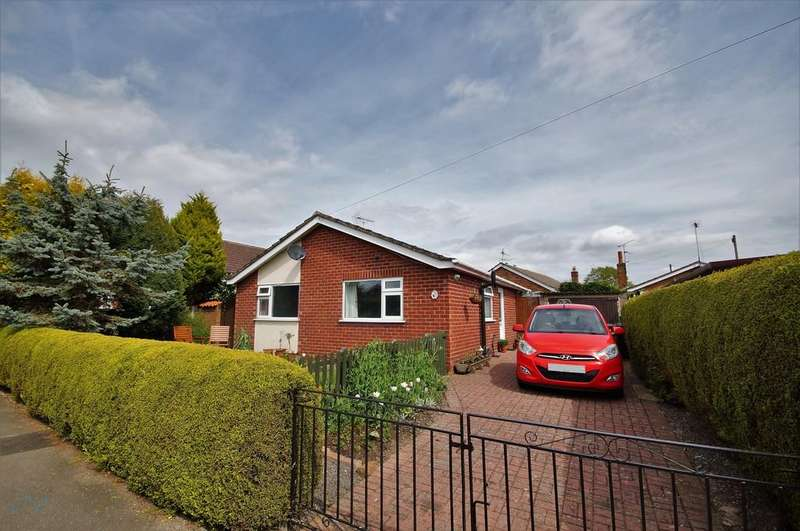 2 Bedrooms Detached Bungalow for sale in Thorpe Lane, Eagle, Lincoln