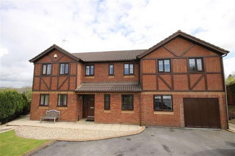 5 Bedrooms Detached House for sale in St Annes Court, Talygarn, Rhondda Cynon Taff