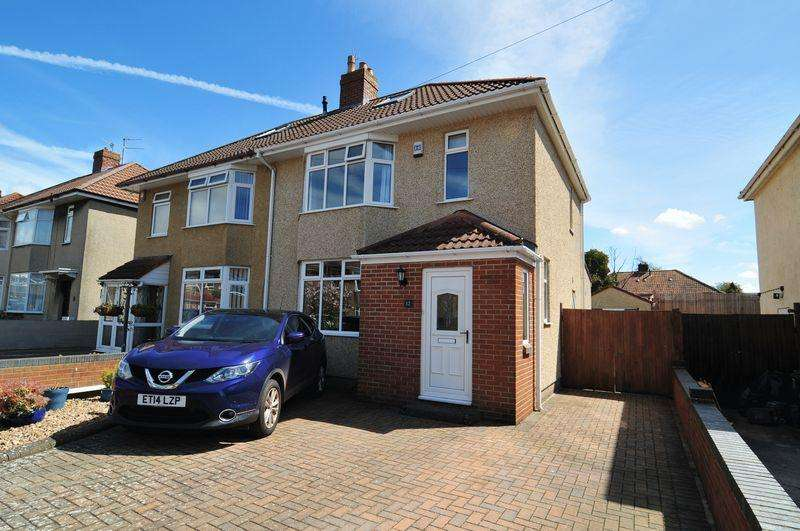 3 Bedrooms Semi Detached House for sale in Dennor Park, Hengrove, Bristol, BS14