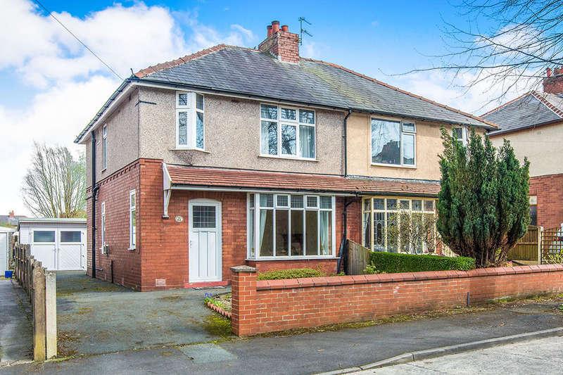 3 Bedrooms Semi Detached House for sale in Windsor Avenue, Ashton-On-Ribble, Preston, PR2