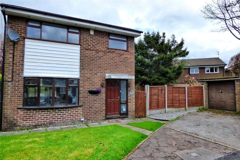3 Bedrooms Detached House for sale in Curlew Close, Bamford, Rochdale, OL11