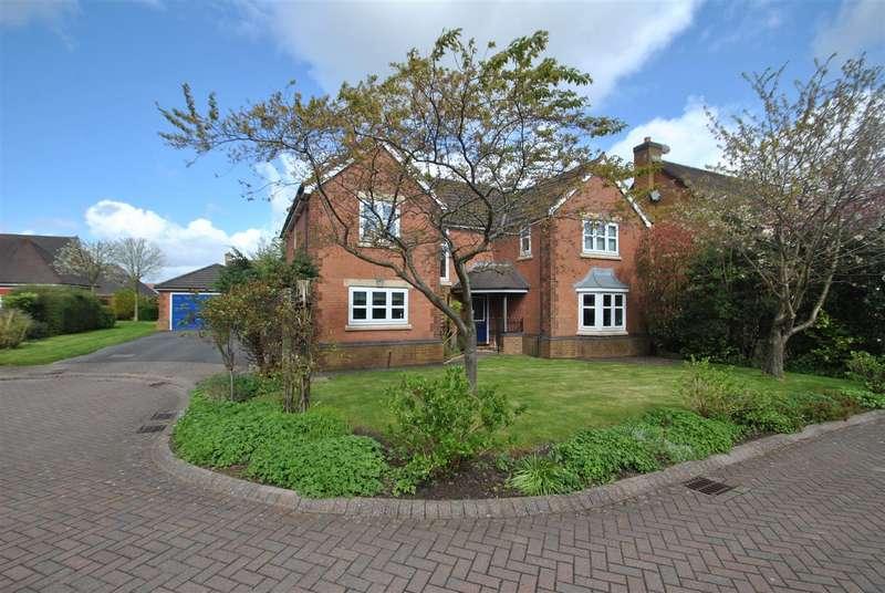 5 Bedrooms Detached House for sale in Croft Gardens, GRAPPENHALL HEYS, Warrington, WA4