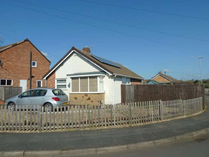 2 Bedrooms Detached Bungalow for sale in Ferneley Crescent, Melton Mowbray