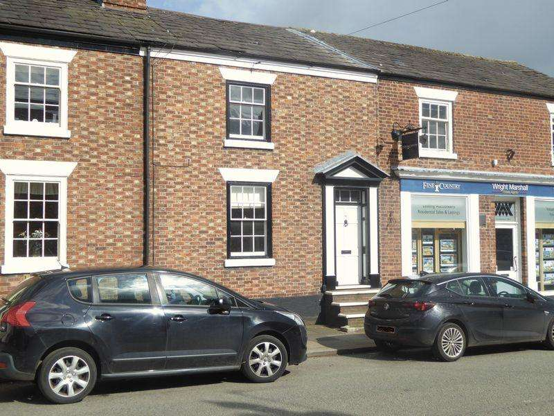 2 Bedrooms Terraced House for sale in High Street, Tarporley