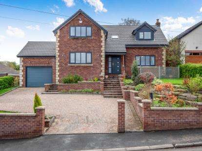 5 Bedrooms Detached House for sale in Mottram Old Road, Stalybridge, Cheshire, United Kingdom