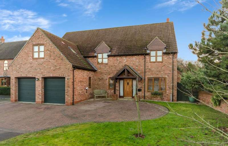 5 Bedrooms Detached House for sale in Lime Grove, Bassingham