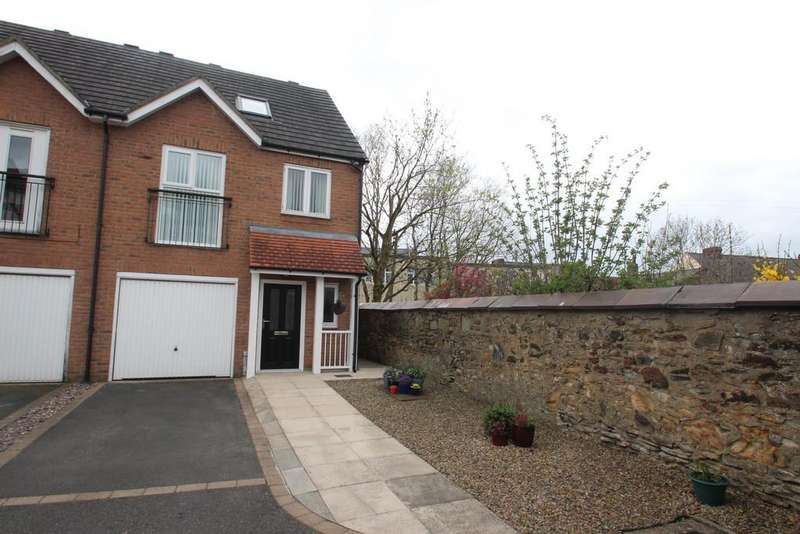 3 Bedrooms Semi Detached House for sale in Angelica Close, Consett