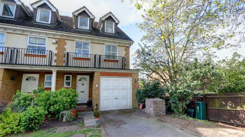 4 Bedrooms Town House for sale in Chelsea Court, Southlands Grove, Bickley, Kent