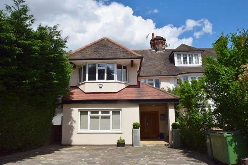 6 Bedrooms Semi Detached House for sale in The Ridgeway, London, NW11