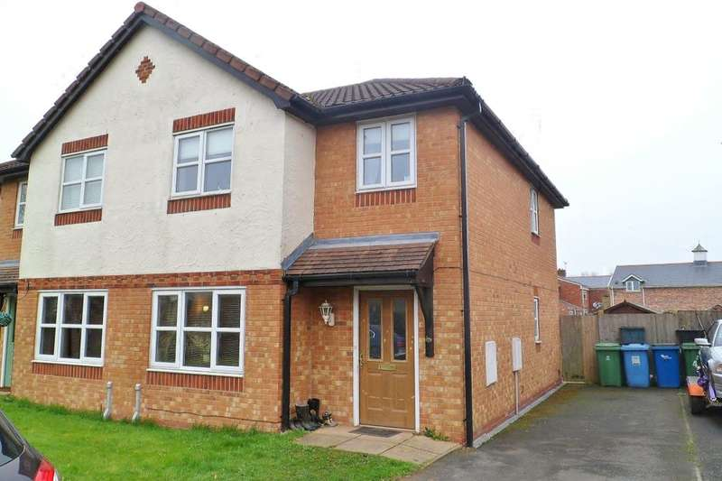 3 Bedrooms Semi Detached House for sale in Tegid Drive, New Broughton, Wrexham, LL11