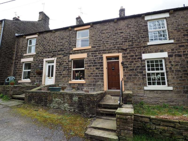 2 Bedrooms Terraced House for sale in Valley Road, Hayfield, High Peak, Derbyshire, SK22 2LR
