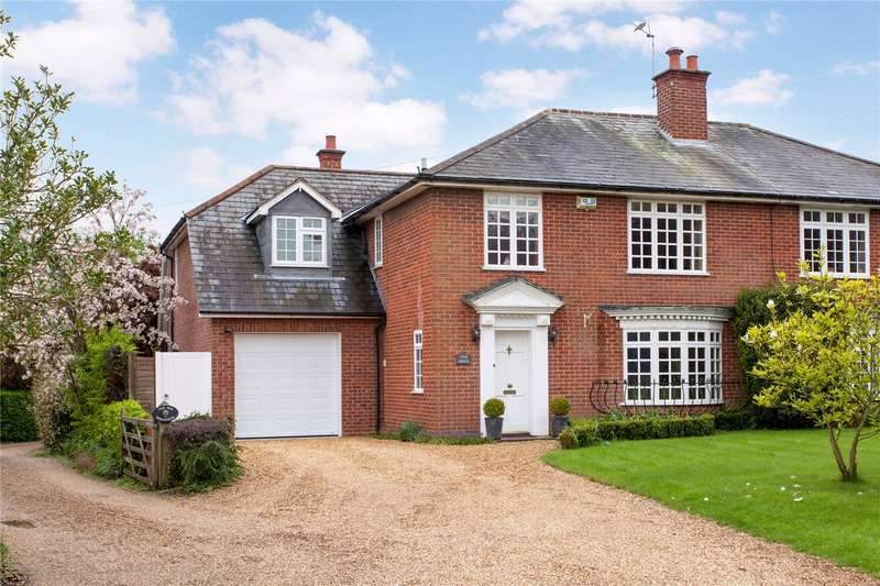 4 Bedrooms Semi Detached House for sale in Coronation Road, Littlewick Green, Maidenhead, Berkshire, SL6