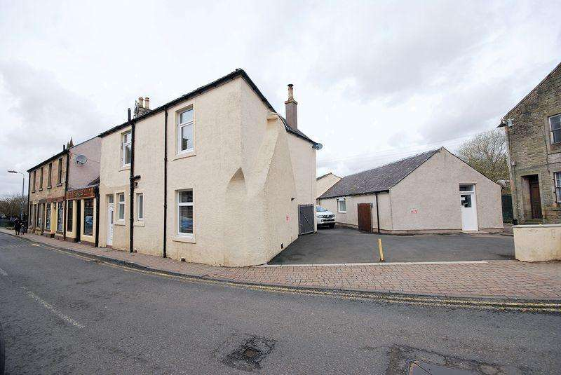 4 Bedrooms End Of Terrace House for sale in 17 Main Street, Dalmellington, KA6 7QL