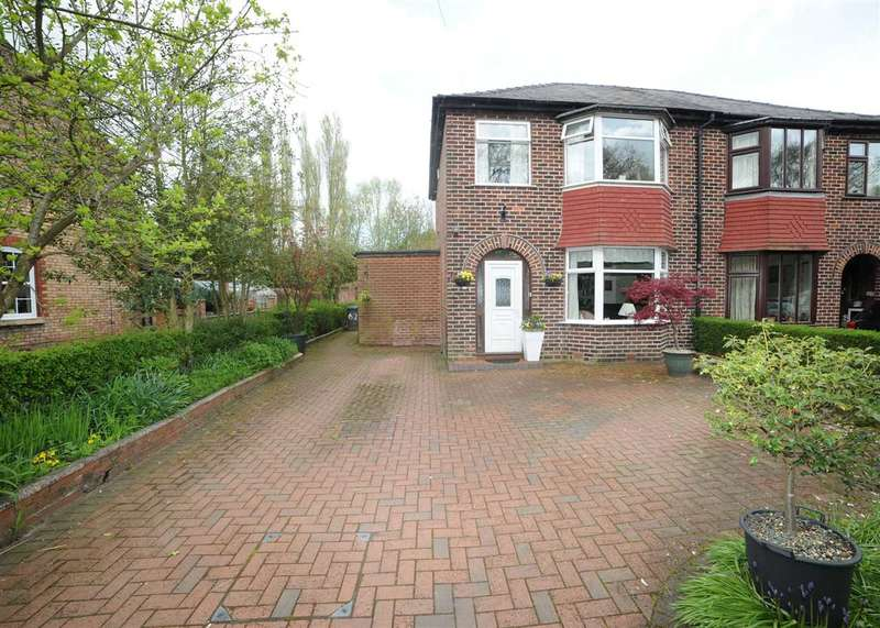 3 Bedrooms Semi Detached House for sale in 62 Moss Side Lane, Rixton WA3 6HJ