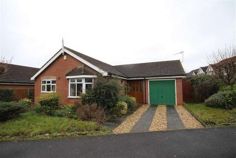 3 Bedrooms Detached Bungalow for sale in Northumbria Road, Quarrington, Sleaford, Lincolnshire