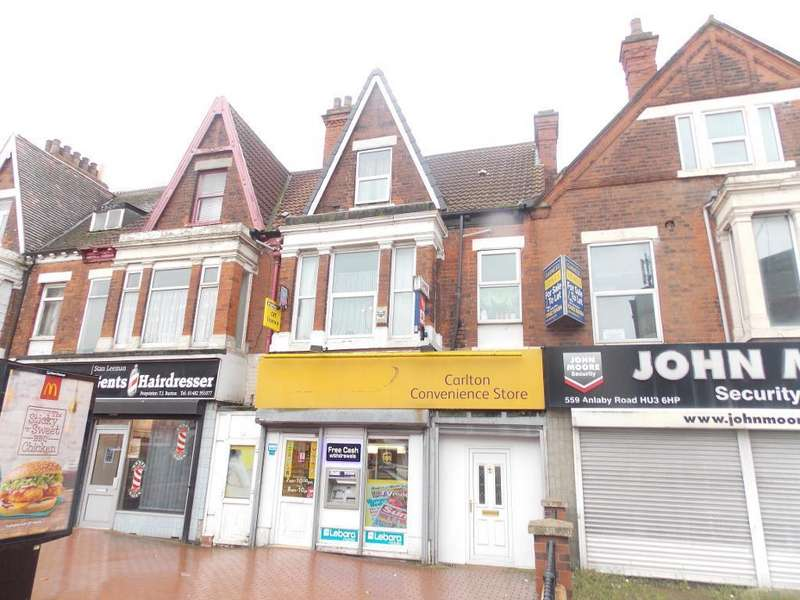 3 Bedrooms Flat for sale in Anlaby Road, Kingston Upon Hull, HU3 6HP