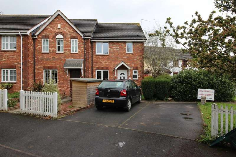 3 Bedrooms End Of Terrace House for sale in Westons Hill Drive, Emersons Green, Bristol, BS16 7DF