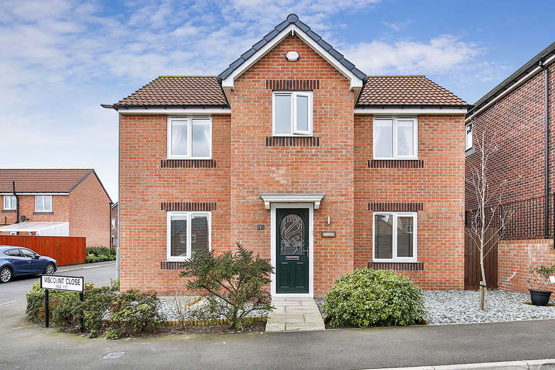4 Bedrooms Detached House for sale in Viscount Close, Stanley, DH9