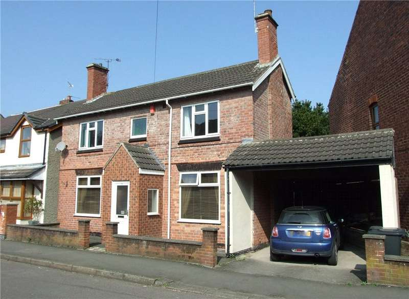 3 Bedrooms Detached House for sale in Charles Street, Leabrooks, Alfreton, Derbyshire, DE55