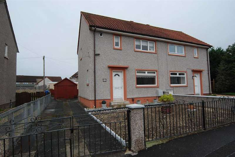 2 Bedrooms Semi Detached House for sale in Jermond Drive, Irvine