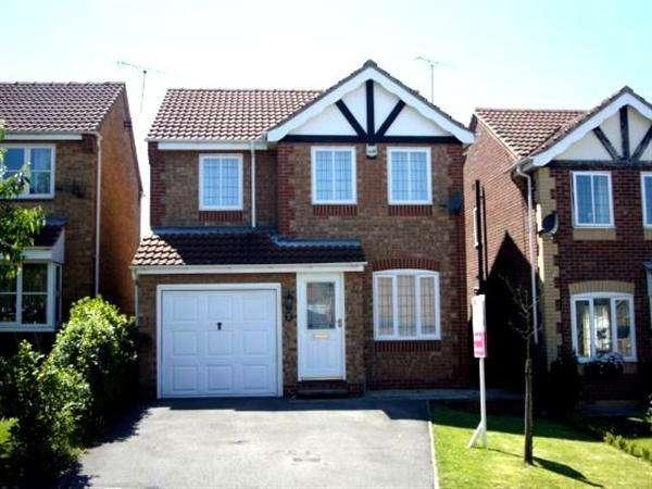 3 Bedrooms Detached House for rent in Lancaster Walk, Gateford, Worksop