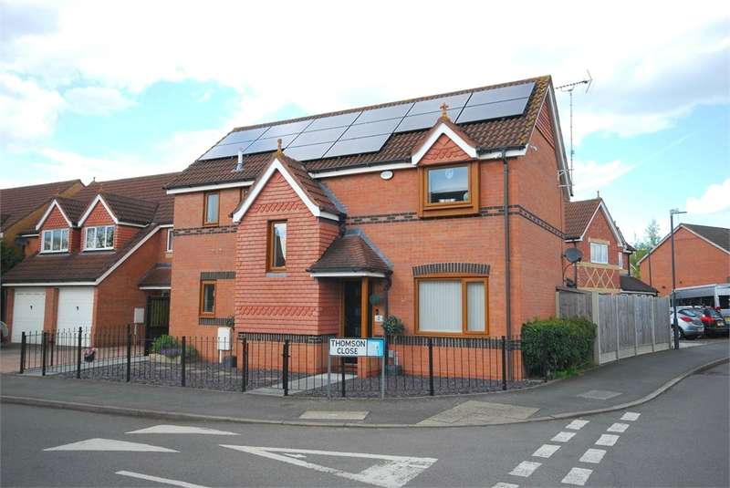4 Bedrooms Detached House for sale in Thomson Close, Waterside, RUGBY, Warwickshire