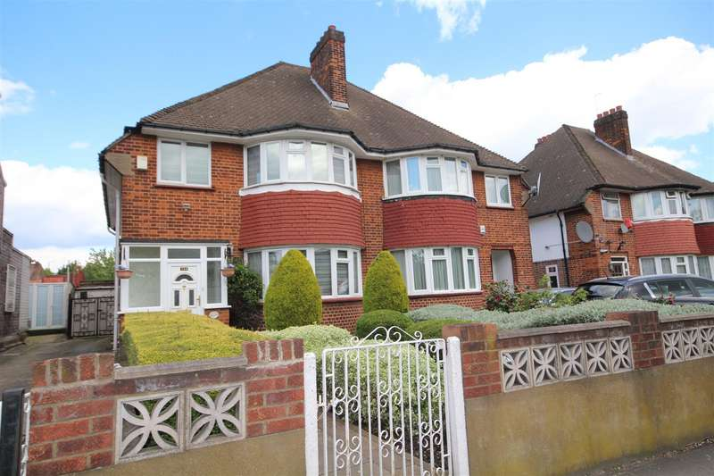 3 Bedrooms Semi Detached House for sale in East Acton Lane, London