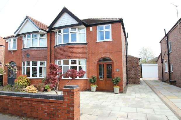 3 Bedrooms Semi Detached House for sale in Brookfield Drive, Timperley