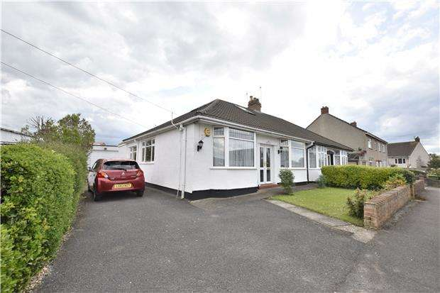 3 Bedrooms Semi Detached Bungalow for sale in Heath Road, Hanham, BS15 3JT