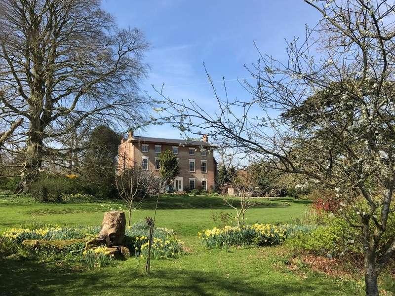 6 Bedrooms Semi Detached House for sale in Broomfield Hall, Enmore, Bridgwater