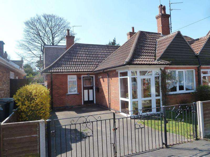 5 Bedrooms Semi Detached Bungalow for sale in Derby Avenue, Skegness
