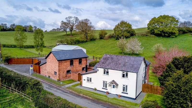 4 Bedrooms Detached House for sale in Brook Farm, Cuddington, CW8 2TB