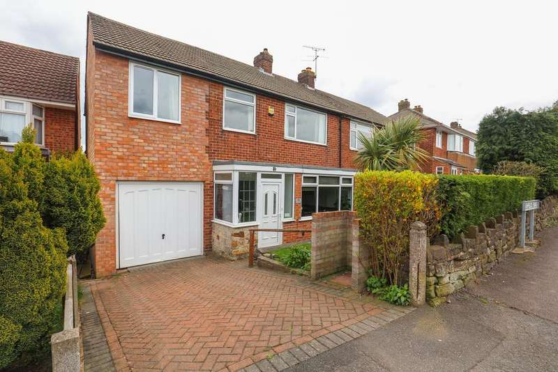 4 Bedrooms Semi Detached House for sale in Highfields Road, Dronfield