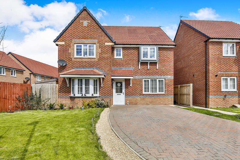 4 Bedrooms Detached House for sale in Richardson Way, Consett, DH8